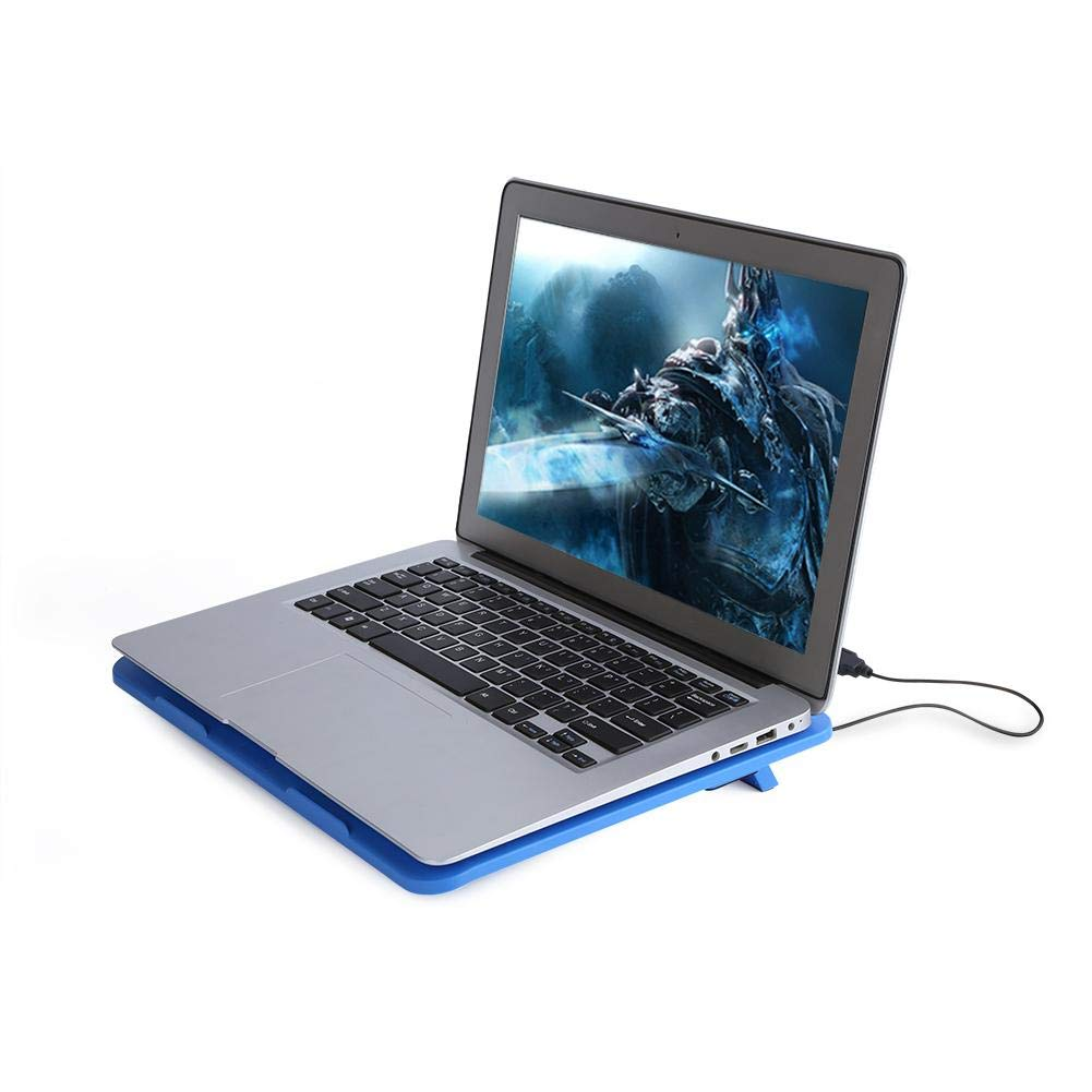 Cooling Pad Cool Pad 黑色 Laptop Cooling Pad Laptop Cooler Cooling Pad Base Big Fan USB Stand for 14 or Below Notebook