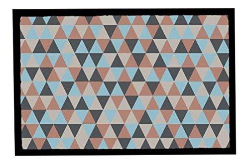 Achoka Welcome 208 Paillasson Polyester Imprimé 60 x 40 x 1 cm