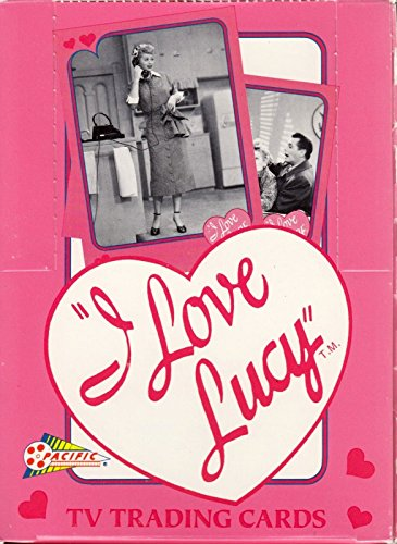I LOVE LUCY TV SHOW 1991 PACIFIC TRADING CARD BOX OF 36 WAX PACKS LUCILLE -