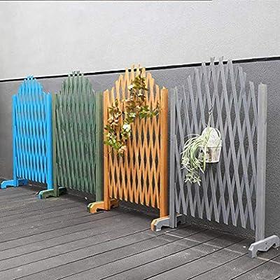 H-Cerca del Jardín La Expansión De La Cerca De Madera Telescópica Balcón Valla Al Aire Libre Patio De Reparto Decorativo Valla (Color : B, Size : 120cm): Amazon.es: Hogar