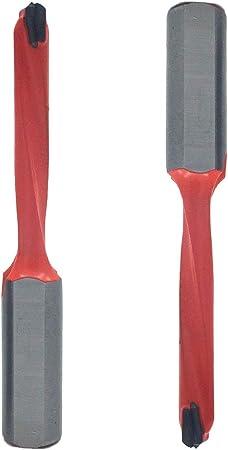 15mm Dia Carbide Tip Brad Point Boring Drill Bit Woodworking Tool 2pcs