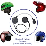 KOKKIA Helmet Bluetooth Earphone : Bluetooth Stereo Music and Voice. Answer in-coming call by saying 'hello'. Ideal for Bluetooth iPhones/iPads/iPods/SmartPhones, etc .