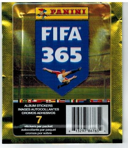 10 Packs Album Bundle: Panini FIFA 365: 2016 Official Sticker Collectors Sticker Starter Kit Soccer Card Stickers