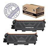 2 Pack Compatible E310 E514 E515 Toner Replacement for Dell E310dw E514dw E515dw E515dn Toner Cartridge( Dell PVTHG, 593-BBKD, P7RMX), 2,600 pages -by UniVirgin