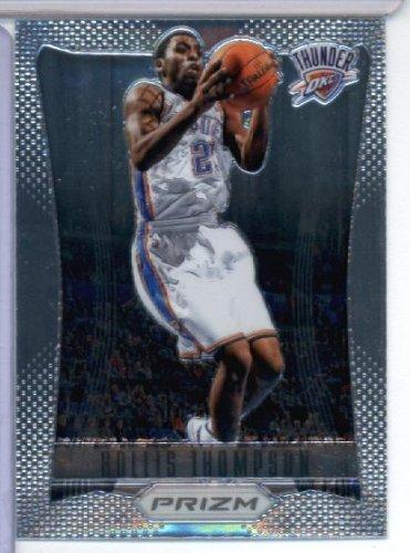 2012-13 Panini Prizm Basketball Card # 52 Hollis Thompson RC - Oklahoma City Thunder (RC - Rookie Card) NBA Trading Cards (Thunder Hobbies Rc)