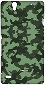 Macmerise Military Green Sublime Case For Sony Xperia C4