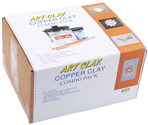 Art Clay Copper Clay Combo Pack (Art Clay Copper Clay)