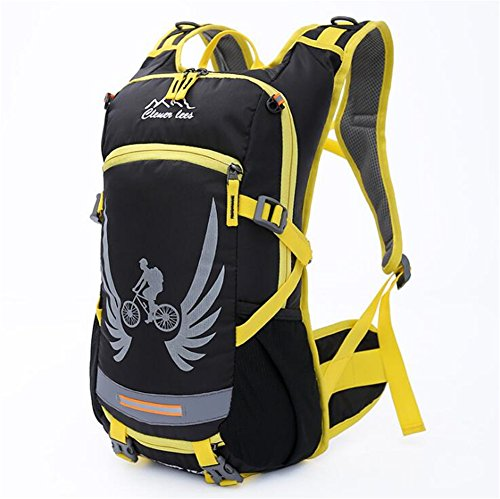 Wmshpeds Equitación Deportes de exterior bolsa bolso de viaje en bicicleta mochila bolsa de agua suministros de equipo de equitación B