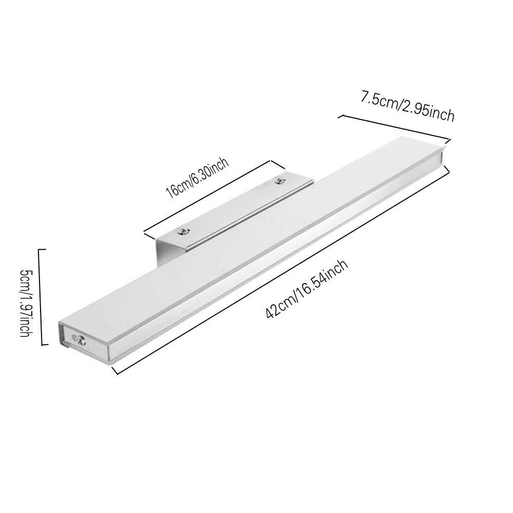 9W Luce Specchio Bagno Impermeabile Illuminazione Moderna per Trucco Decorazione Etelux Lampada da Specchio Bagno a Led