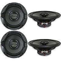 4 x JBL GT7-6 6.5 2-way Car Audio Coaxial Speakers GT7 Series