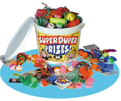 Super Duper Publications Prize Bucket of Motivational Toys & Prizes Educational Learning Resource for Children
