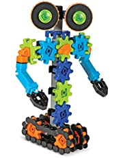 Learning Resources Gears Gears Gears, Robots in Motion, Robot Toy, Engineering Toy, STEM, Ages 5+
