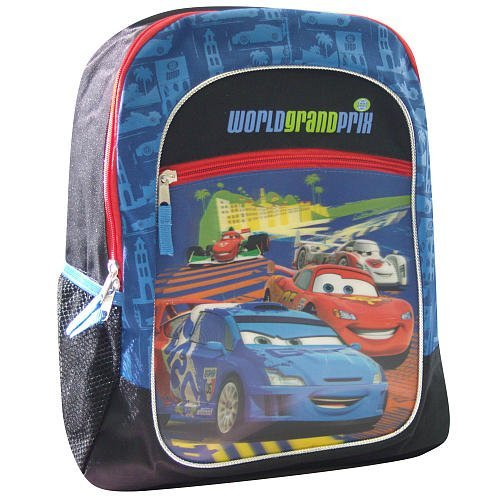 - Disney Pixar Cars 16 inch Backpack - World Grand Prix
