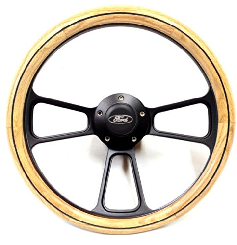 1958-1960 Ford F-Series Pick Up Truck Oak Wheel - Flaming River Steering - Oaks Ford River