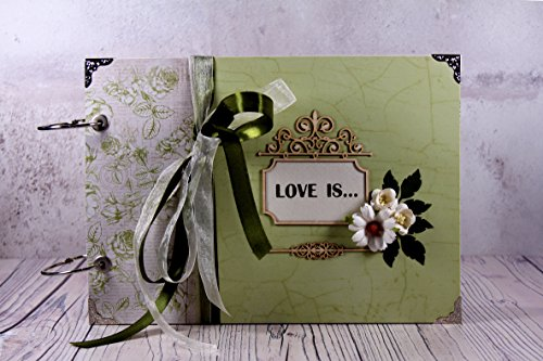 Love Photo Album - Anniversary Gift by Precious Life Moments