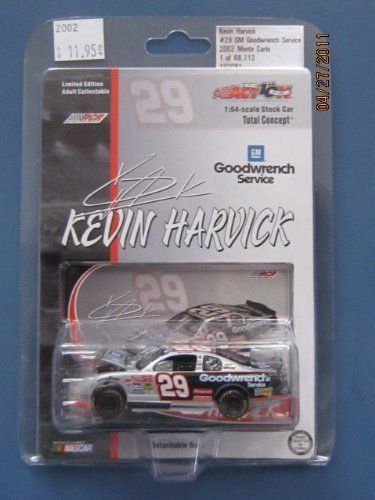 Kevin Harvick #29 Goodwrench 2002 Monte Carlo 1:64 Diecast Car by Total Concept