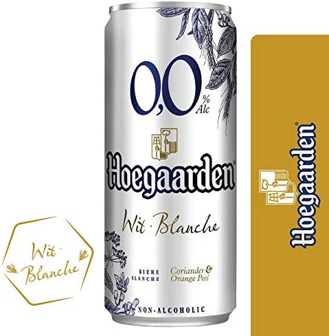 Hoegaarden 0.0 Non Alcoholic Wheat Beer