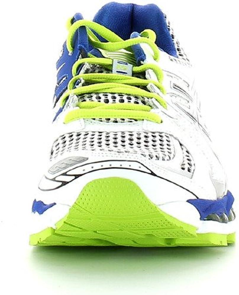 Asics Gel Nimbus 15 Scarpe Running Uomo - White/Black/Lime, White/Black/Lime, 45: Amazon.es: Zapatos y complementos