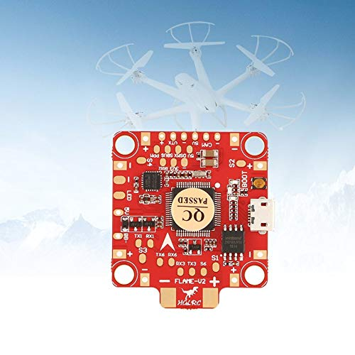 Wikiwand HGLRC F4 Flame V2 Lipo Flight Controller Betaflight OSD 5V BEC for RC Drone by Wikiwand (Image #3)