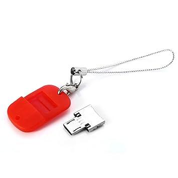 Wenquan,Llavero USB a Micro USB Macho Adaptador OTG(Color ...