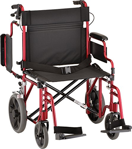 Nova Medical Products 22 Heavy Duty Transport Wheelchair