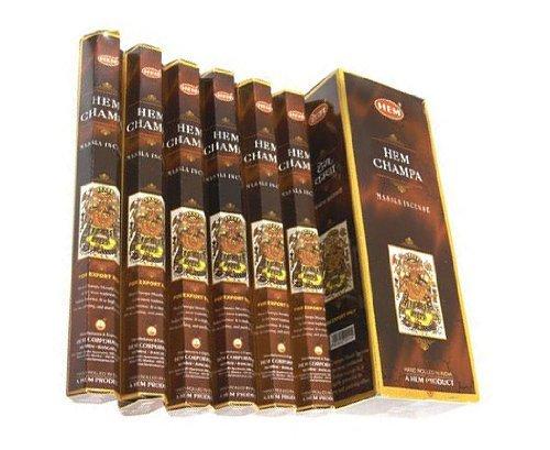 Hem Champa - 90 Masala Sticks (120 Grams) Box - HEM Incense
