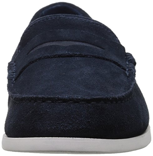 Lacoste Men's Navire Penny 216 1 Slip-On Loafer, Navy, 9.5 M US by Lacoste (Image #4)