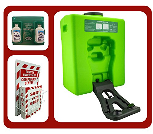 emergency eyewash station portable osha bundle by osha4less - Eye Wash Station Osha
