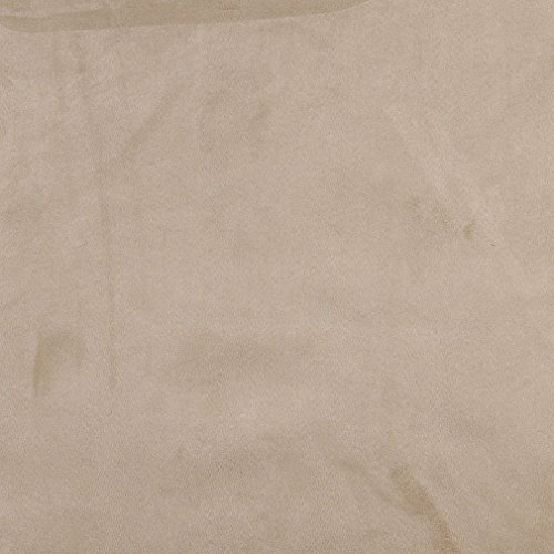 C083 Taupe Solid Microsuede Microfiber Upholstery Grade Fabric by The Yard