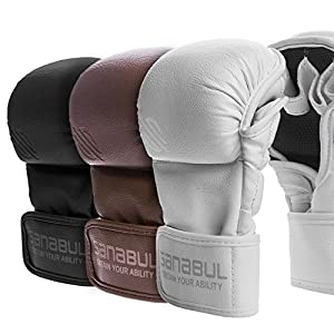 NEW ITEM Sanabul Battle Forged 7 oz MMA Hybrid Sparring Gloves
