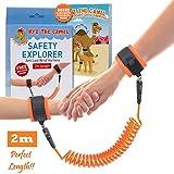 NimbusKids Child Anti Lost Wrist Leash - 2m - Orange
