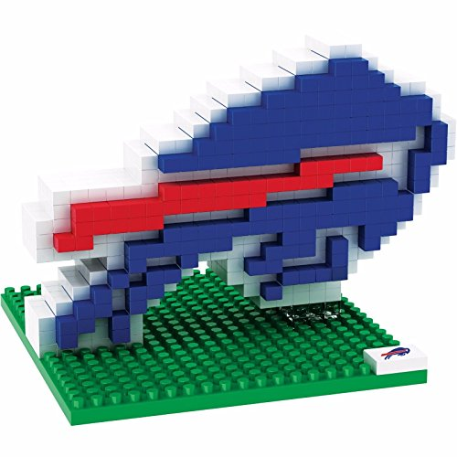 NFL Team BRXLZ 3D Logo Puzzle Set (Buffalo Bills)