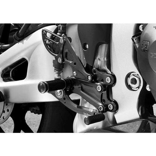 Side Heel Guard Right (Sato Racing Billet Aluminum Right Side Heel Guard Anodized Black for Honda 2013 CBR600RR (HG-CBR6-BK))