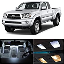 Toyota Tacoma 2005-2015 White LED Package Kit - Interior + Tag + Reverse (9 Pieces)