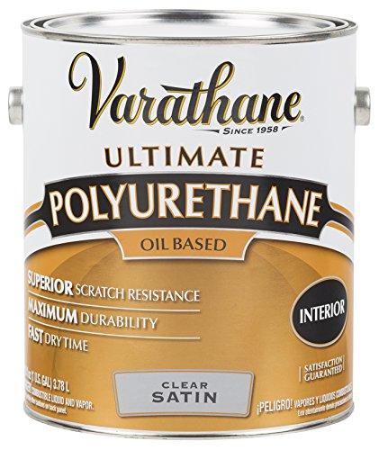 RUST-OLEUM 9131 Varathane Gallon Satin Interior Polyurethane