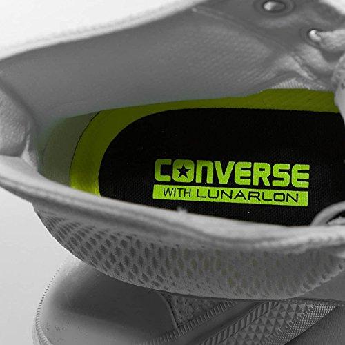 Converse Herren CTAS II Engineered Mesh Hi Sneakers Weiß (White/white/gum)