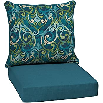 Garden treasures 2 piece salito marine deep - Garden treasures replacement cushions ...