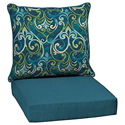 Amazon Com Garden Treasures 2 Piece Salito Marine Deep Seat Patio
