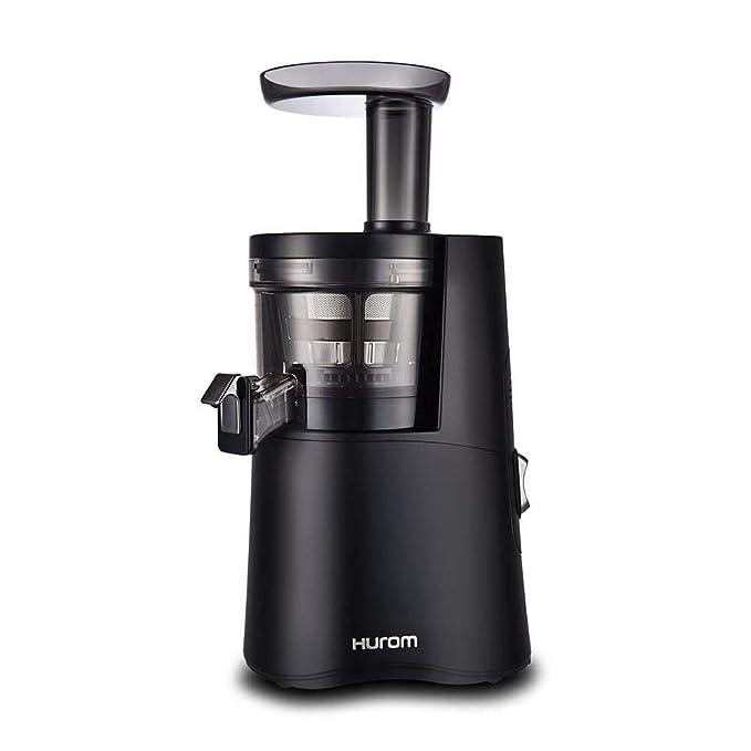 Extractor de zumos Hurom H-AA Alpha (Tercera generación) + Filtros de Smoothies y Sorbetes e Cepillo para verduras (Negro): Amazon.es: Hogar