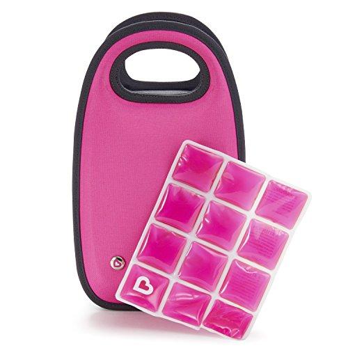 Munchkin Cool Bottle Bag, Pink (Munchkin Feeding Bag)