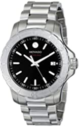 Movado Men's 2600115 Series 800 Performance Stainless Steel Bracelet Watch