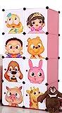 R & B Kid Wardrobe Cupboard Almirah P-1 Cartoon Door Plate/ Polypropylene Plastic Sheet (36 Micron)