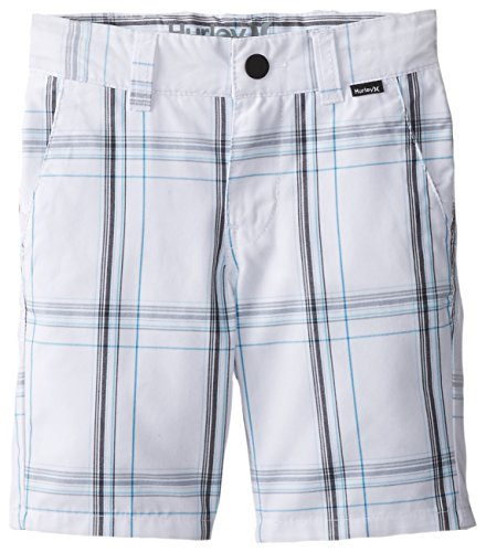 Hurley Little Boys' Puerto Rico Walk Short, White, (Hurley Kids Boys Shorts)