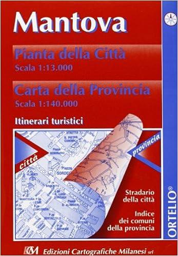Cartina Geografica Della Provincia Di Mantova.Amazon It Mantova Pianta Della Citta 1 13 000 Carta Della Provincia 1 140 000 Itinerari Turistici Libri