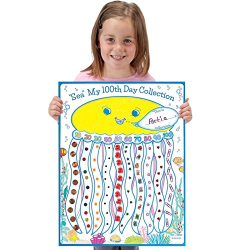 """Ready-To-Decorate """"Sea"""" My 100th Day Collection Posters"""
