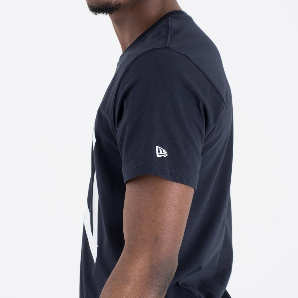 Mlb New York Yankees Herren S Blau Kurzarm Rundhals T-shirt Sport Sport Fanartikel