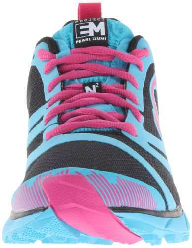 PI Shoes EM Trail N 2 Black/Electric Blue 10.5 Women