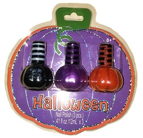 (Girls party Favor Halloween Nail Polish Age)