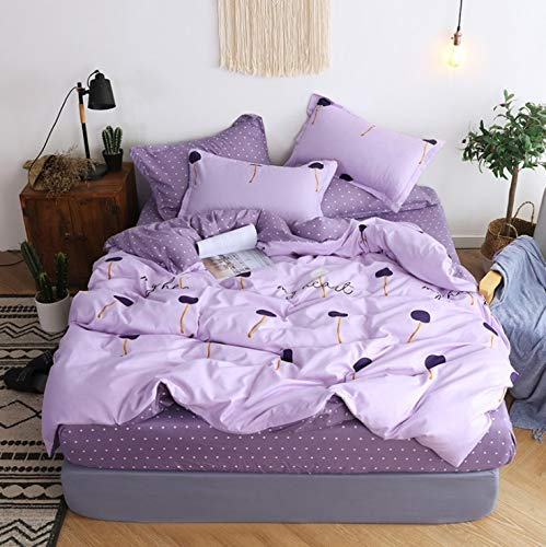 Bedding Sets|Bedding Set Blue Euro Bedspread Luxury Cover Double Bed Sheets Linens Queen King Adult Bedclothes|by ATUSY| ()