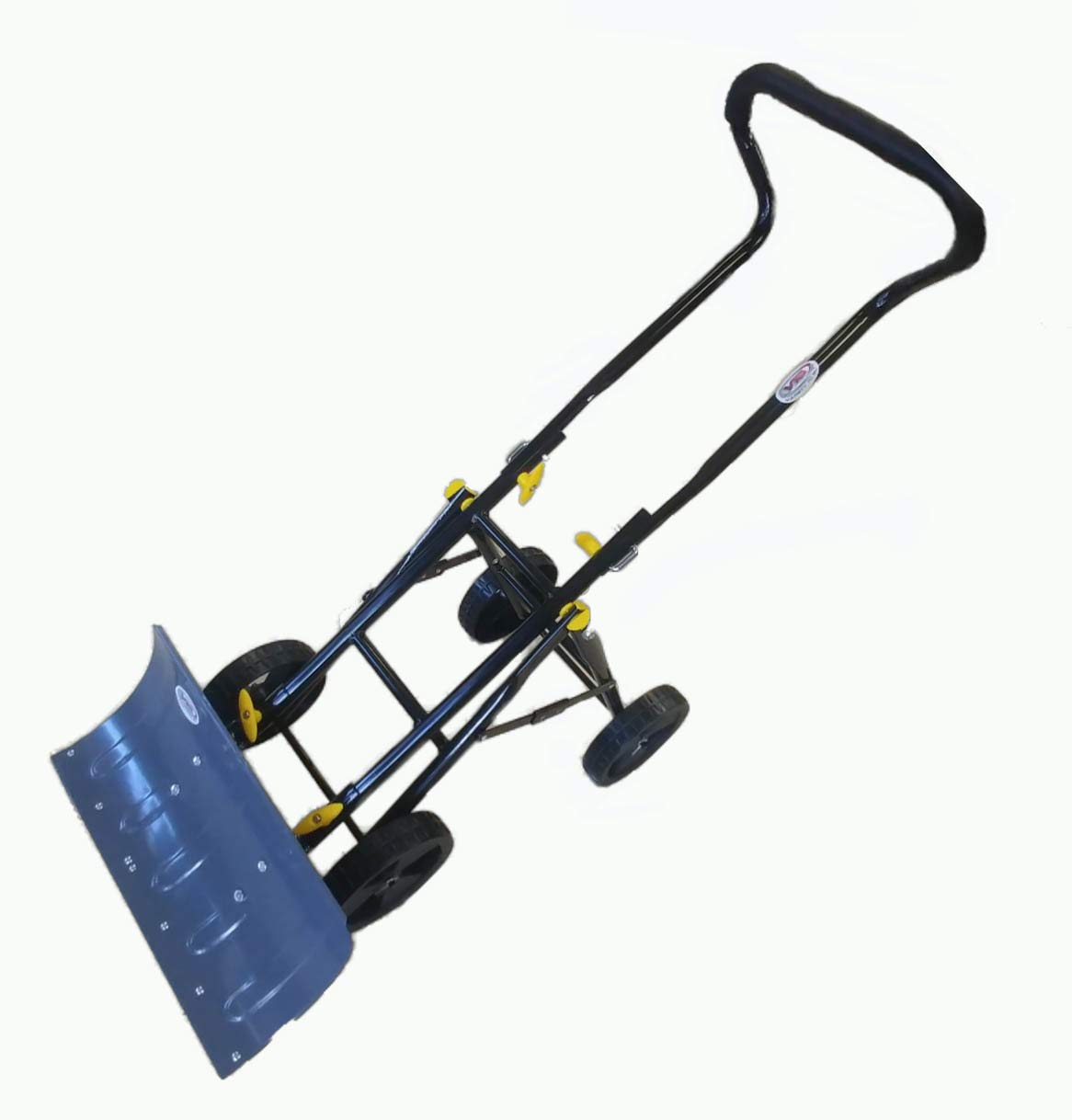 Variety To Go Snow Shovel with Wheels Adjustable Wheeled Snow Pusher, Heavy Duty Rolling Snow Plow Shovels with 8'' Wheels, Efficient Snow Plow Snow Removal Tool by Variety To Go